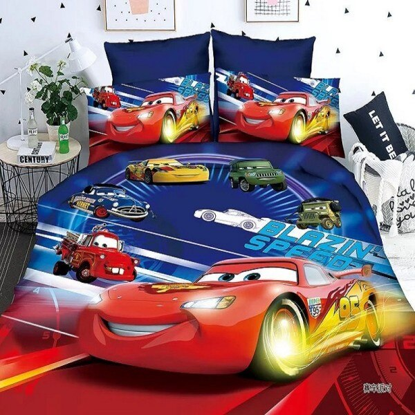 disney pixar cars bed linen set