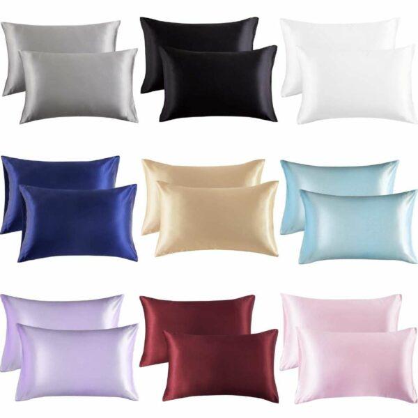 buy satin pillow cases online