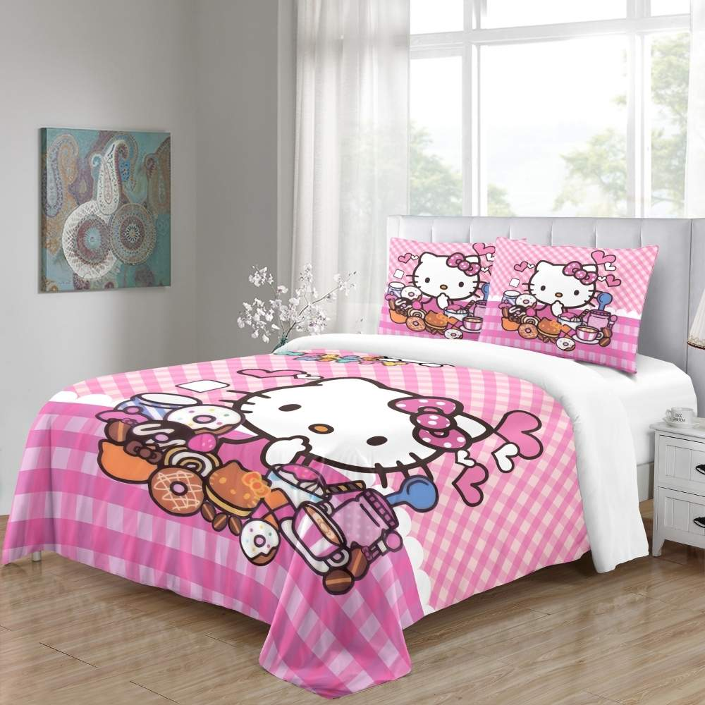 buy hello kitty bed linen sheets online