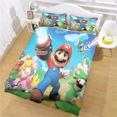 buy super Mario quilt cover set online